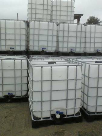 275 Gallon Ibc Square Water Tote Out Resale Lumber Products