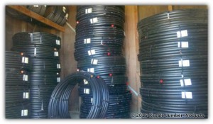 Utility and food grade NSF poly pipe