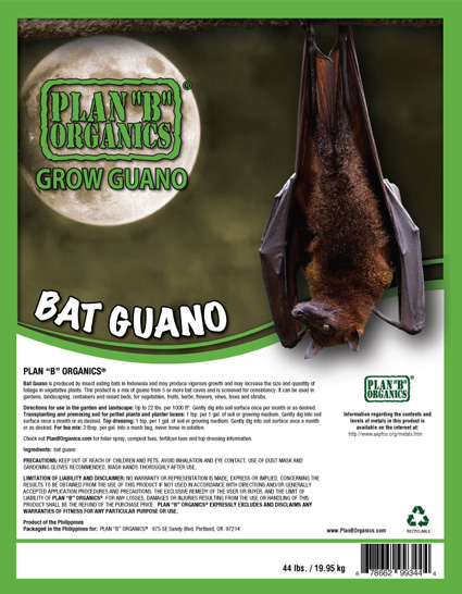 Plan B Grow Guano